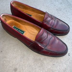 32e834db9f Cole Haan Penny Loafers Burgundy Men s Size 10.5 B